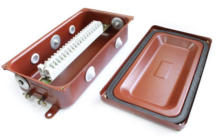 Использование и назначение коробок с наборными зажимами